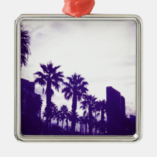 サンディエゴの紫色 メタルオーナメント