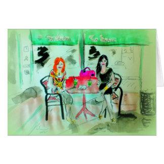 サンディエゴの茶場所の飲むBoba カード