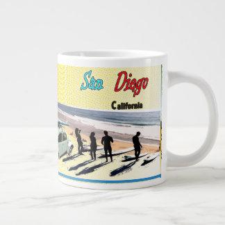 サンディエゴの郵便はがき ジャンボコーヒーマグカップ