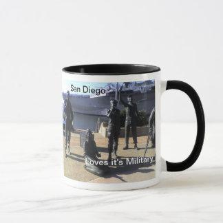 サンディエゴはメモリアルデーのマグを祝います マグカップ