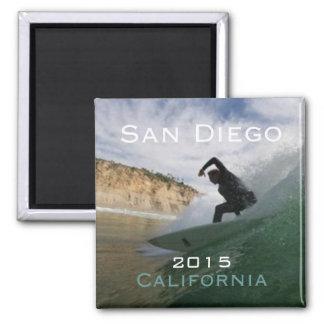 サンディエゴカリフォルニアのサーフィンの磁石の変更年 マグネット