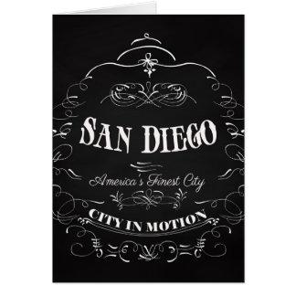 サンディエゴカリフォルニア、アメリカ最も素晴らしい都市 カード