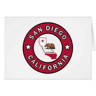 サンディエゴカリフォルニア カード