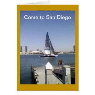 サンディエゴカードに来られる グリーティングカード