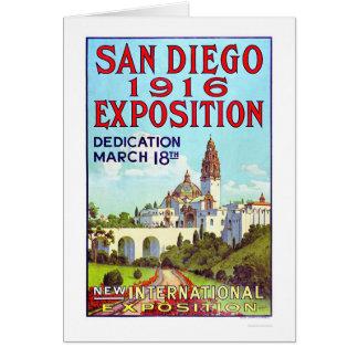 サンディエゴ博覧会1916年 カード