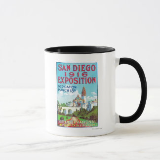 サンディエゴ国際的な博覧会ポスター マグカップ