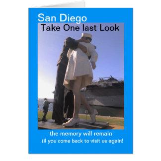 サンディエゴ愛それはそれからそれが梳くのを   残します カード
