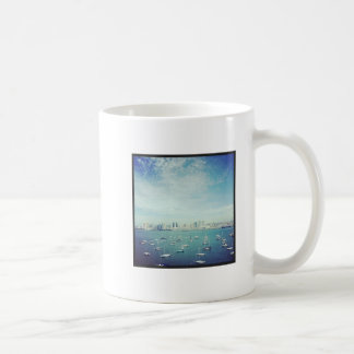 サンディエゴ湾のコーヒー・マグ コーヒーマグカップ