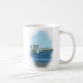 サンディエゴ湾のマグ コーヒーマグカップ