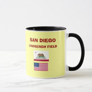 サンディエゴ空港SANコードマグ マグカップ