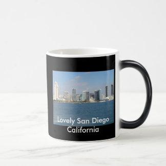 サンディエゴ美しいカリフォルニアの変形させるマグ モーフィングマグカップ