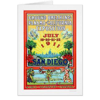 サンディエゴ1911年のパナマ-カリフォルニア博覧会 カード