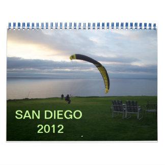 サンディエゴ2012年 カレンダー