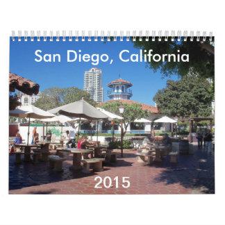 サンディエゴ、カリフォルニアのカレンダー2015年 カレンダー