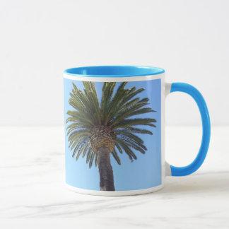 サンディエゴ、カリフォルニアのヤシの木 マグカップ