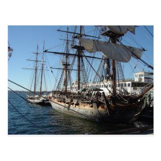 サンディエゴ、カリフォルニアの海賊船 ポストカード