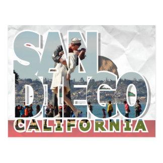 サンディエゴ、カリフォルニアの郵便はがき ポストカード