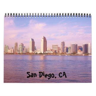 サンディエゴ、カリフォルニア カレンダー