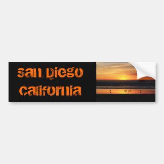 サンディエゴ     カリフォルニア バンパーステッカー