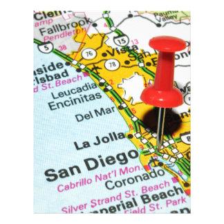 サンディエゴ、カリフォルニア レターヘッド