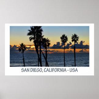 サンディエゴ、カリフォルニア(米国)ポスター ポスター