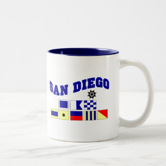 サンディエゴ ツートーンマグカップ