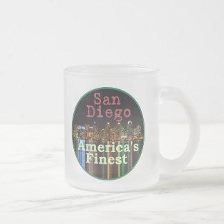 サンディエゴ フロストグラスマグカップ