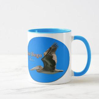 サンディエゴ-ペリカン マグカップ