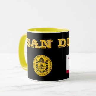 サンディエゴ*陶磁器のコーヒーカップ マグカップ