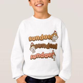 サンデーのサンデーのサンデー スウェットシャツ