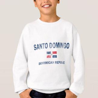 サント・ドミンゴのドミニカ共和国のデザイン スウェットシャツ