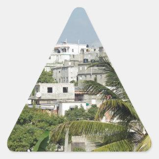 サント・ドミンゴの窮乏 三角形シール