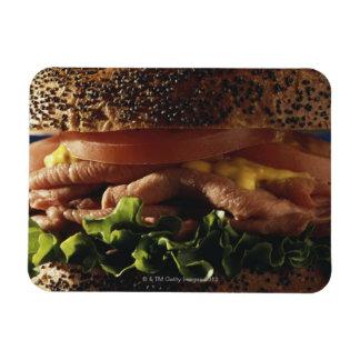 サンドイッチのクローズアップ マグネット