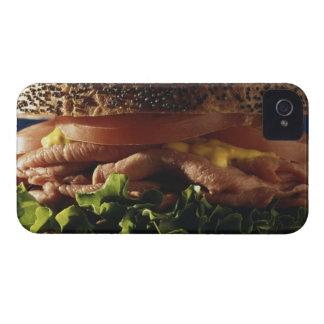 サンドイッチのクローズアップ Case-Mate iPhone 4 ケース