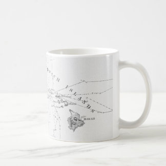 サンドイッチ島の歴史的な図表のマグ コーヒーマグカップ