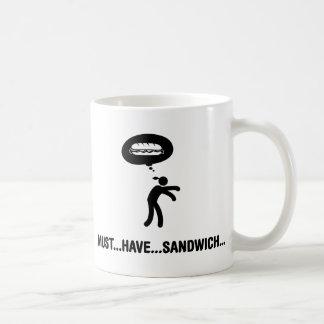 サンドイッチ恋人 コーヒーマグカップ