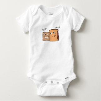 サンドイッチ愛Tシャツ(乳児) ベビーワンシー