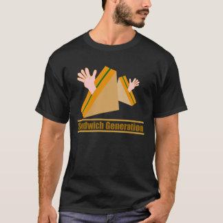 サンドイッチ生成 Tシャツ