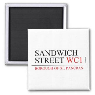 サンドイッチ通り マグネット