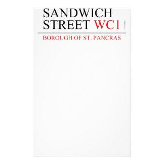 サンドイッチ通り 便箋