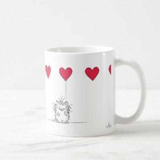 サンドラ|Boynton|愛||CAT ベーシックホワイトマグカップ