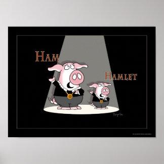サンドラBoynton著HAM/HAMLETポスター ポスター