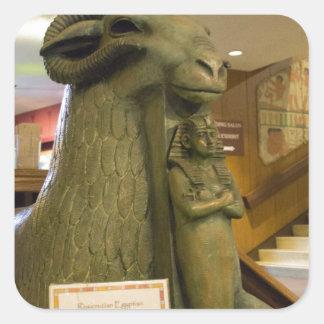 サンノゼのエジプト博物館、ラムの彫像 スクエアシール