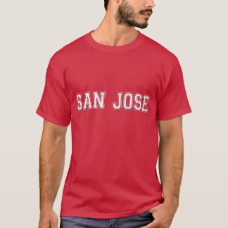 サンノゼ都市ワイシャツ Tシャツ