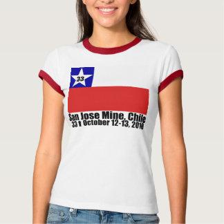 サンノゼ鉱山、チリ抗夫の救助- Tシャツ