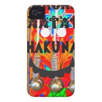 サンバのカーニバルはHakuna Matata blings.pngを着色します Case-Mate iPhone 4 ケース