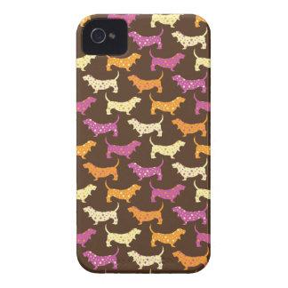 サンバのバセット犬 Case-Mate iPhone 4 ケース