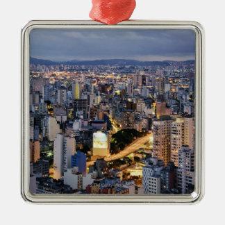 サンパウロの都市景観2 メタルオーナメント