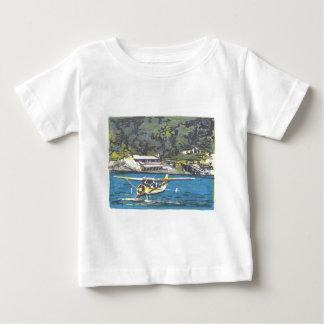 サンファンへの水上飛行機はあります ベビーTシャツ