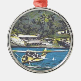 サンファンへの水上飛行機はあります メタルオーナメント